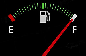 Fill up the fuel tank.
