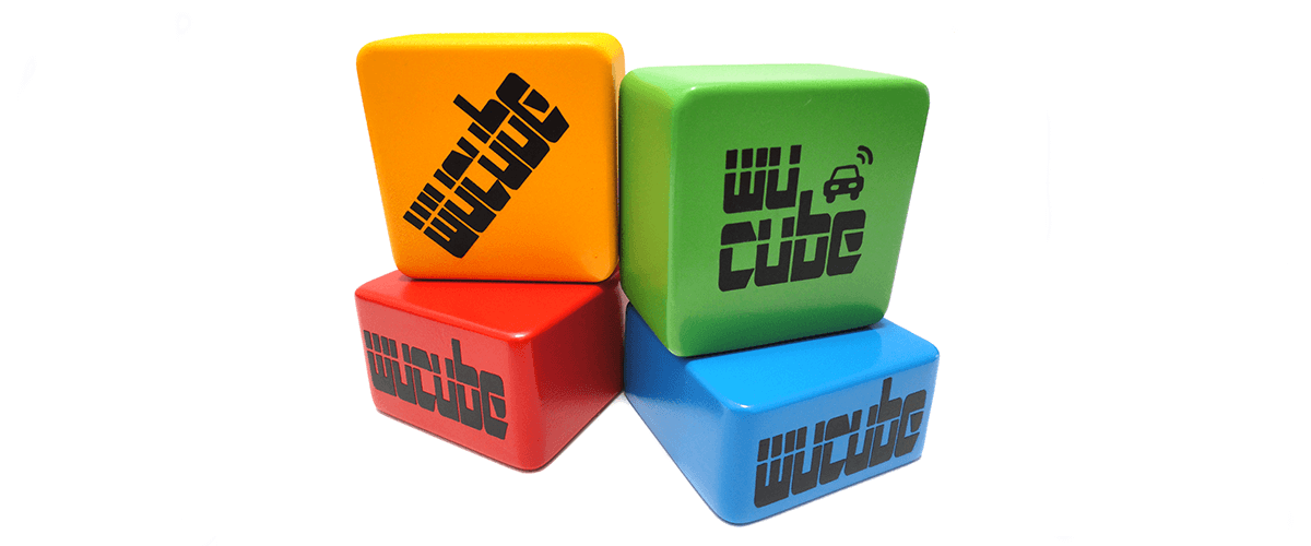 FOUR WUCUBES IN COLOUR HIGH RES